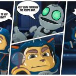 Art With a Message From Ratchet & Clank #RatchetAndClank