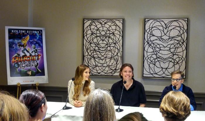 Bella Thorne, James Arnold Taylor & Kevin Munroe