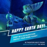 Happy Earth Day From Ratchet & Clank! #EarthDay #RatchetAndClank