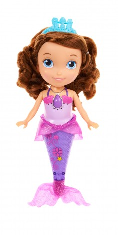 Sofia the First Mermaid Doll