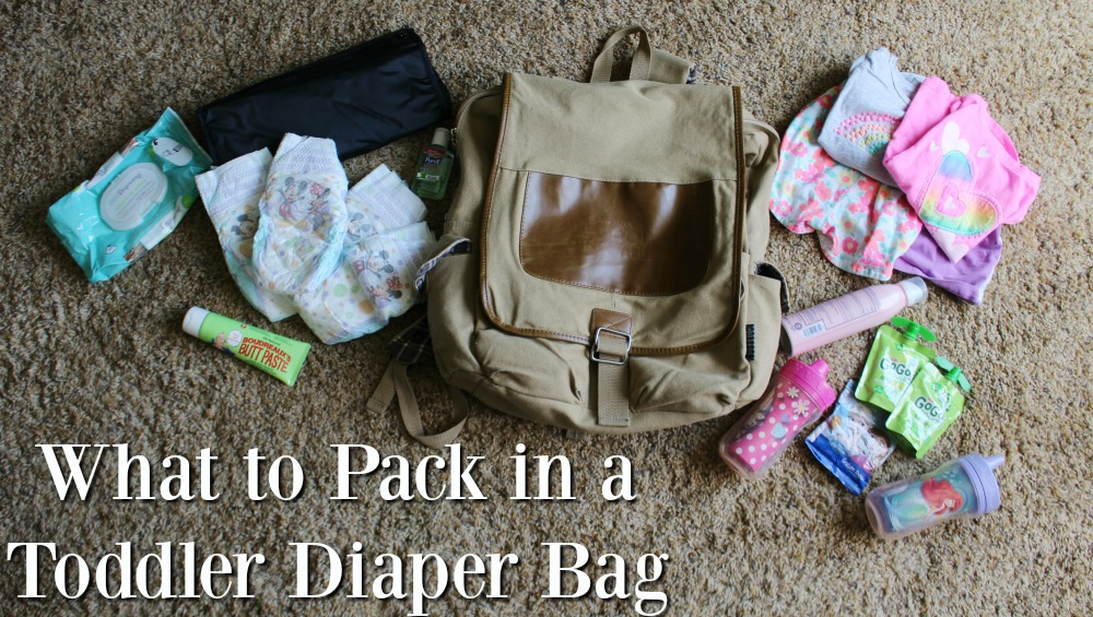 What To Pack In A Diaper Bag For Toddlers Sippy Cup Mom