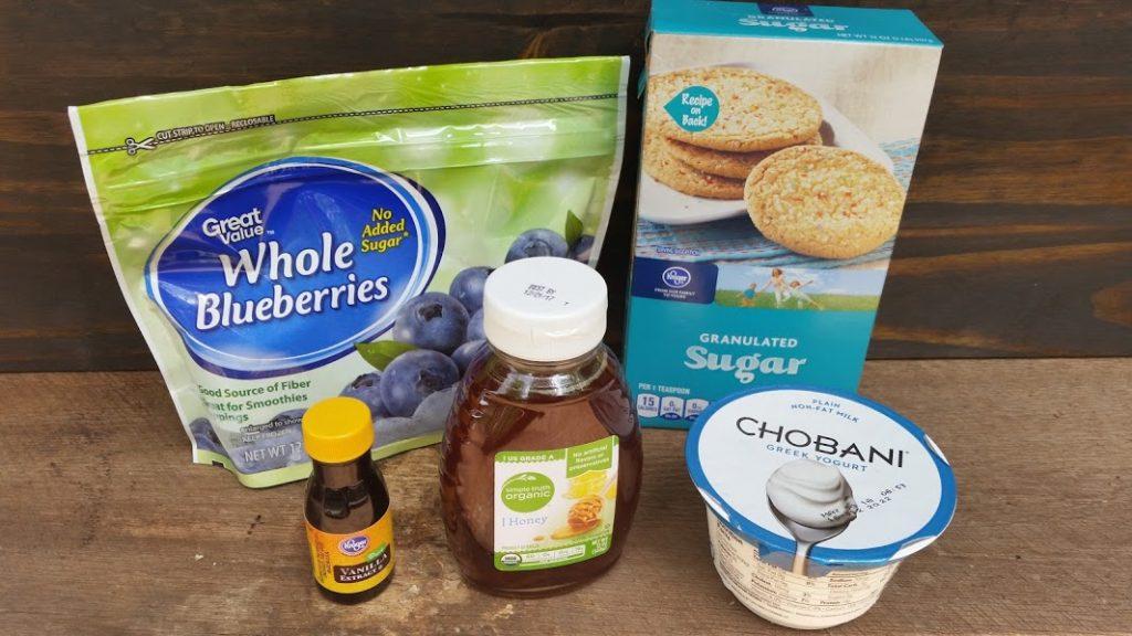 Frozen Blueberry Pop Ingredients