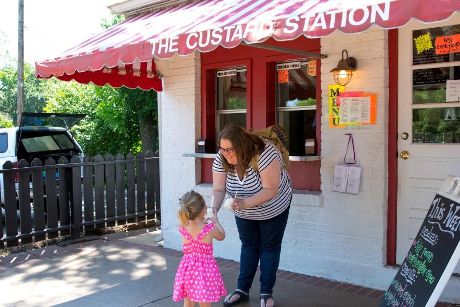 Custard at The Custard Station