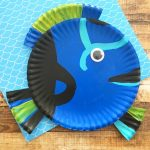 Make a Finding Dory Paper Plate Craft