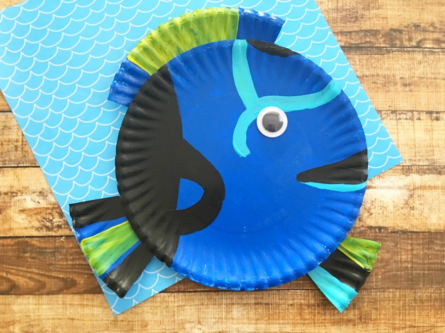 Finding Dory Paper Plate