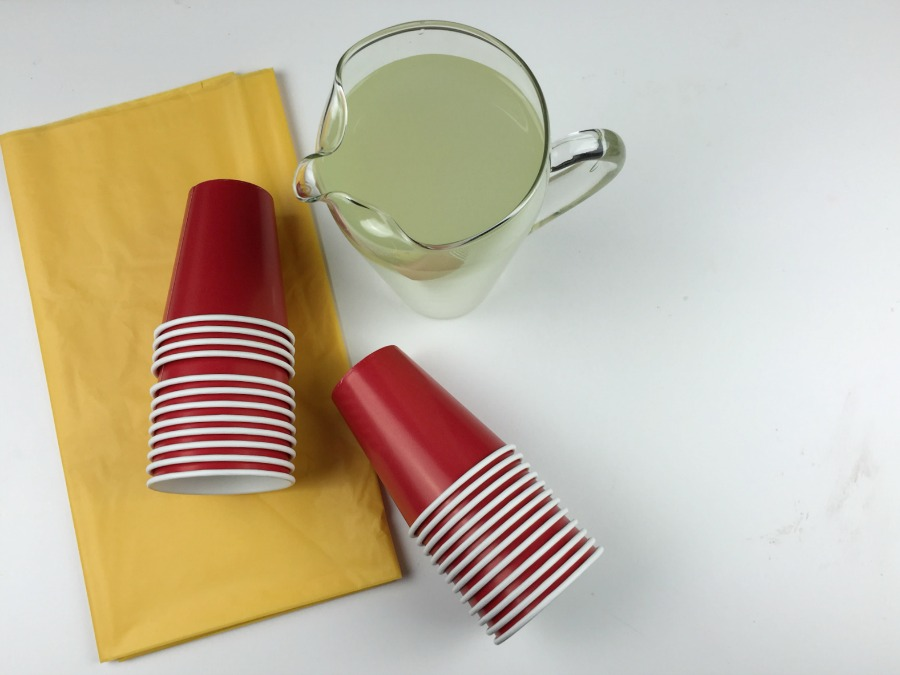 Lemonade Stand Supplies for CMNH