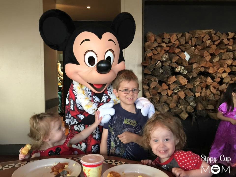 Mickey and Kids