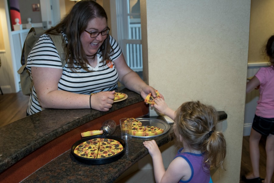 Pizza at The Magic House
