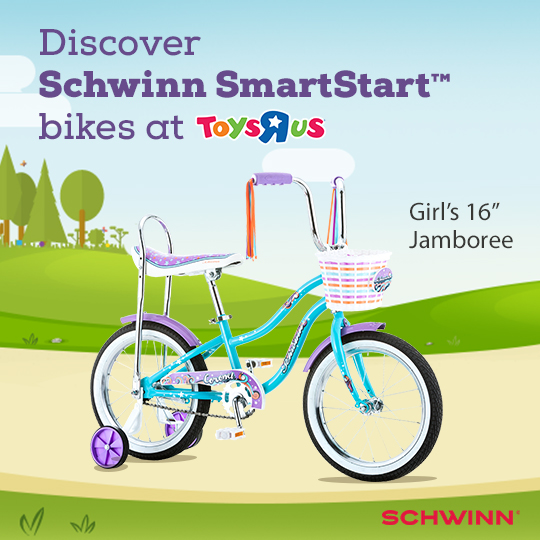 Teach Your Child To Ride A Bike With Schwinn Smartstart Bicycles At