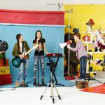 On the Set of New Disney Channel Show Bizaardvark