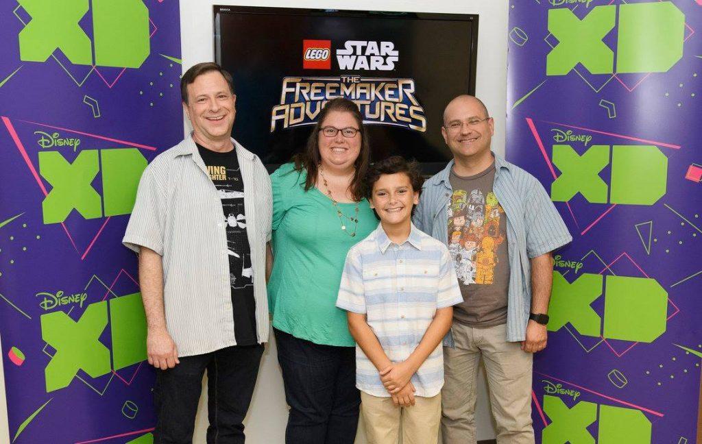 LEGO STAR WARS - THE FREEMAKER ADVENTURES - Press day. (Disney XD/Todd Wawrychuk)BILL MOTZ, NICOLAS CANTU, BOB ROTH