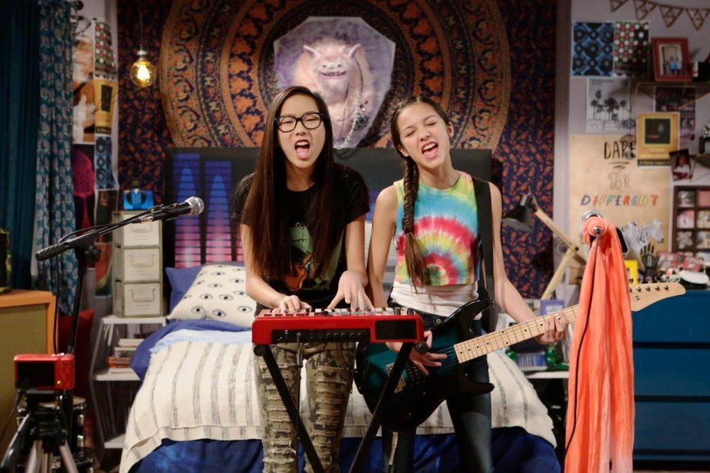 On The Set Of New Disney Channel Show Bizaardvark Sippy