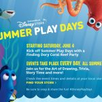 Summer Play Dates and Finding Dory at the Disney Store #FindingDoryEvent
