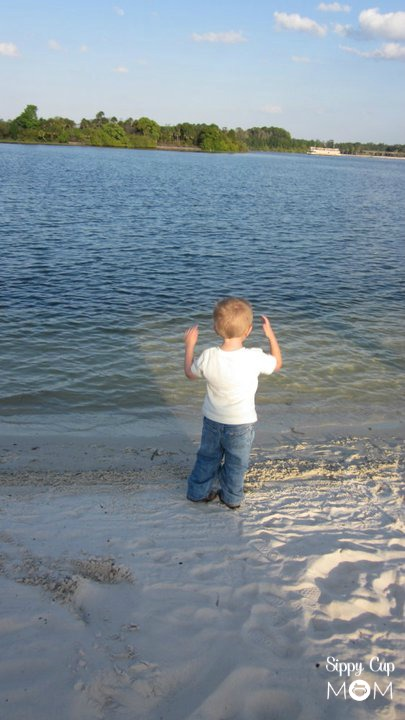 Hayden on Beach
