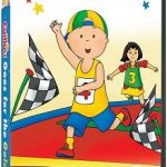 Caillou Goes For The Gold on DVD July 19th