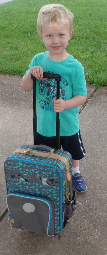 Dino Suitcase