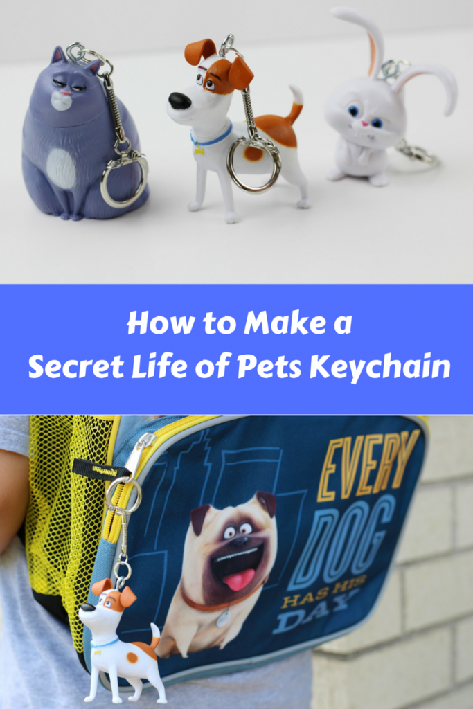 How to Make a Secret Life of Pets Keychain