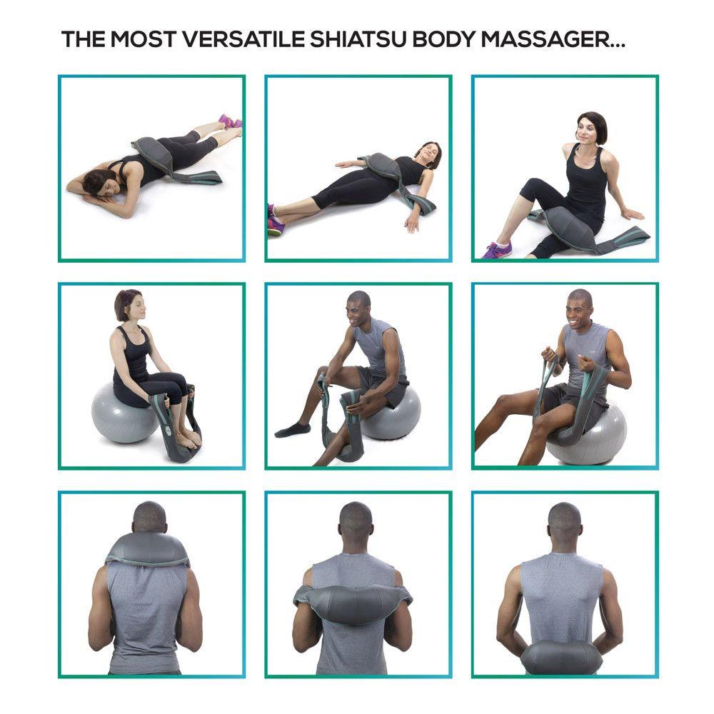 InstaShiatsu+ Neck and Back Massager 2