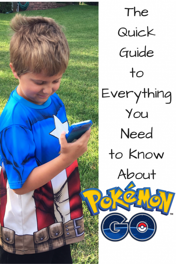 The Quick Guide to Everything You Need to Know About Pokemon Go!