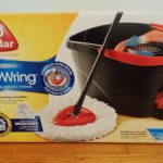 Clean Floors with the O-Cedar Microfiber EasyWring Spin Mop & Bucket System + Giveaway