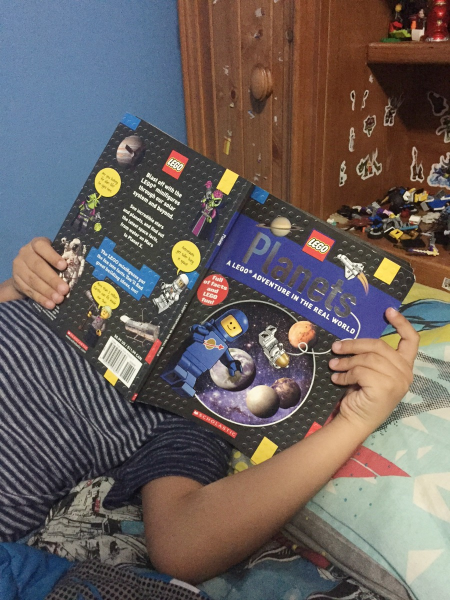 Reading LEGO Book