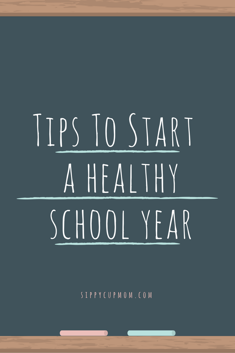 Tips to Start a Healthy School Year