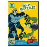 Wild Kratts: Wild Reptiles is Available on DVD August 23rd