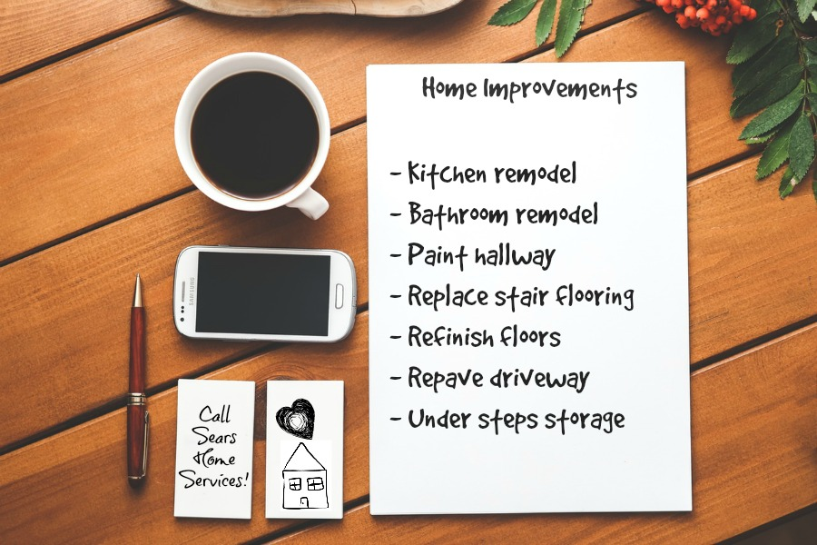 Home Improvement To Do List