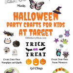 Halloween Party Crafts for Kids + $200 Target Gift Card Giveaway