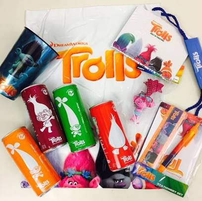 Win a Trolls Swag Bag!