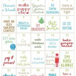 25 Days of Christmas Activities Calendar