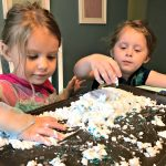 How To Make Disney Frozen Fake Snow and Clean Up The Mess