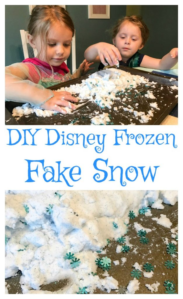 How To Make Disney Frozen Fake Snow