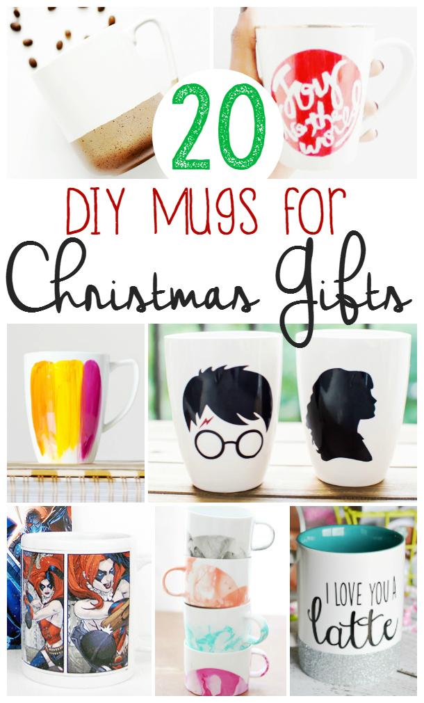 DIY Mugs for Christmas Gifts