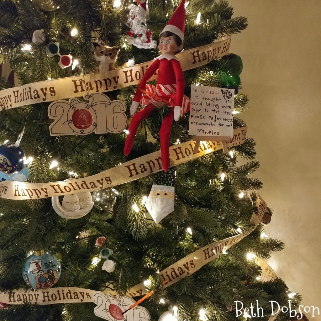 Check out over 40 Elf on the Shelf ideas!