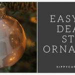 Make an Easy DIY Death Star Ornament