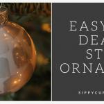 Make an Easy DIY Death Star Ornament