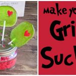 Make Your Own Grinch Suckers
