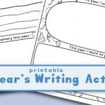 Printable Year in Review and New Year's Resolutions for Kids