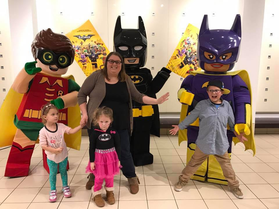 Meeting LEGO Batman