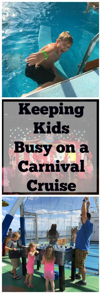 How to Keep Kids Busy on a Carnival Cruise
