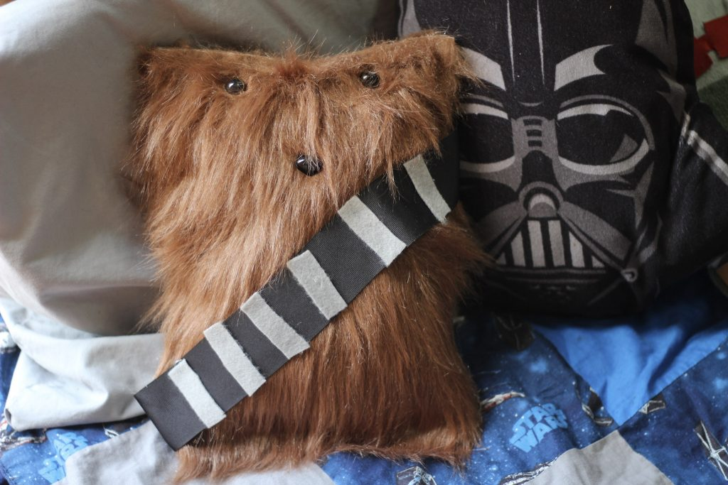 No Sew Chewbacca Pillow