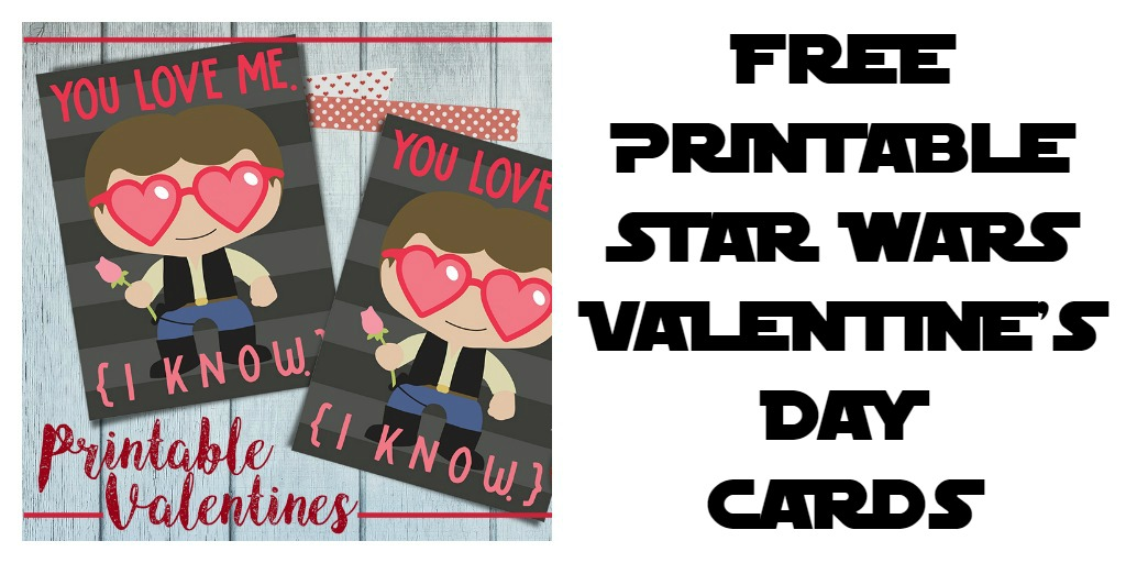 photo relating to Printable Star Wars Valentine named Printable Star Wars Valentines Working day Playing cards - Sippy Cup Mother