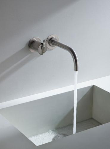 wall mounted bath faucet