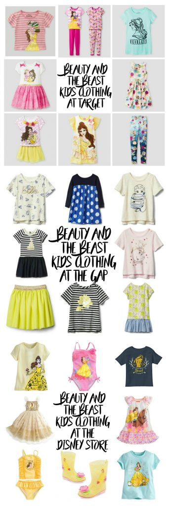 Beauty and the Beast Kids Clothing