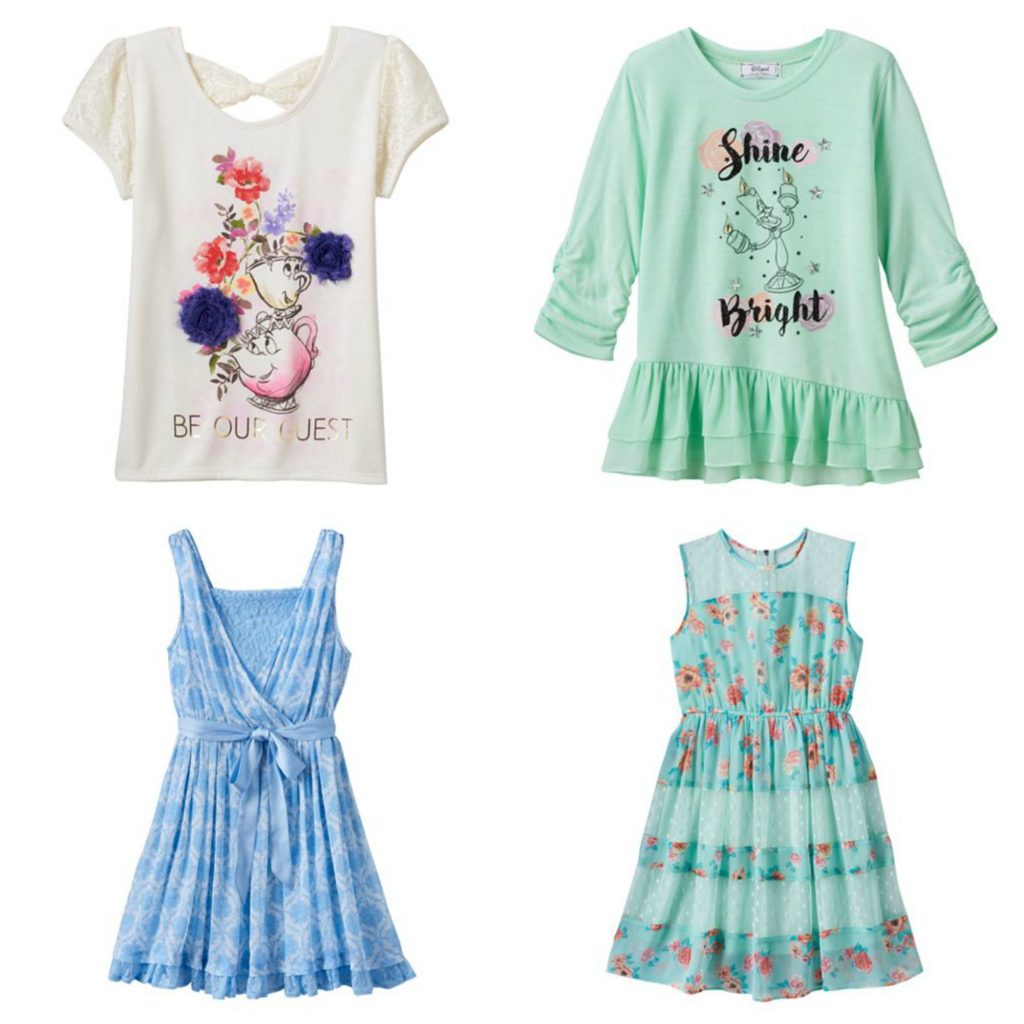 Beauty and the Beast Kids Clothing at Kohls