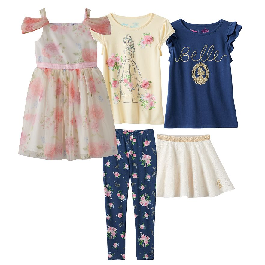 Beauty and the Beast Kids Clothing at Kohl's