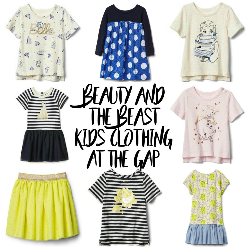 Beauy and the Beast Kids Clothing at The Gap