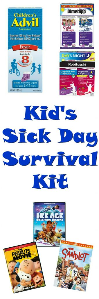Kid's Sick Day Survival Kit