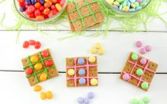 Easter Tic Tac Toe Snack Craft